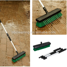 garden sweeping brush, telescoping broom for sweeping, floor cleaning brooms