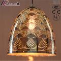 Iluminación colgante de hierro hueca de individualidad moderna con comedor