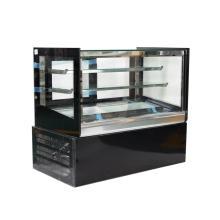 floor cabinet with glass doors