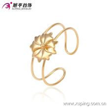 Xuping moda simples banhado a ouro flor imitação jóias bebê pulseira (51342)