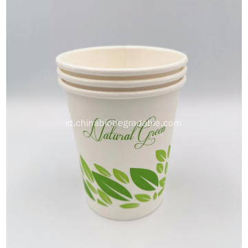 100% Biodegradable Disposable PLA Coated Coffee Paper Cups