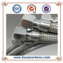 Mangueira de metal flexível de alta pressão com conexão de forma igual