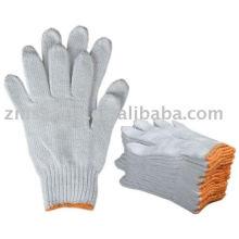 Natural white Cotton glove