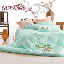 100% algodón barato ropa de cama 40S bordado