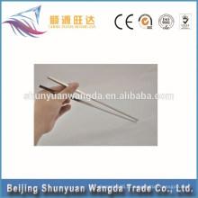 Chopsticks Tipo de talheres personalizadas saudável não tóxico pauzinhos de titânio