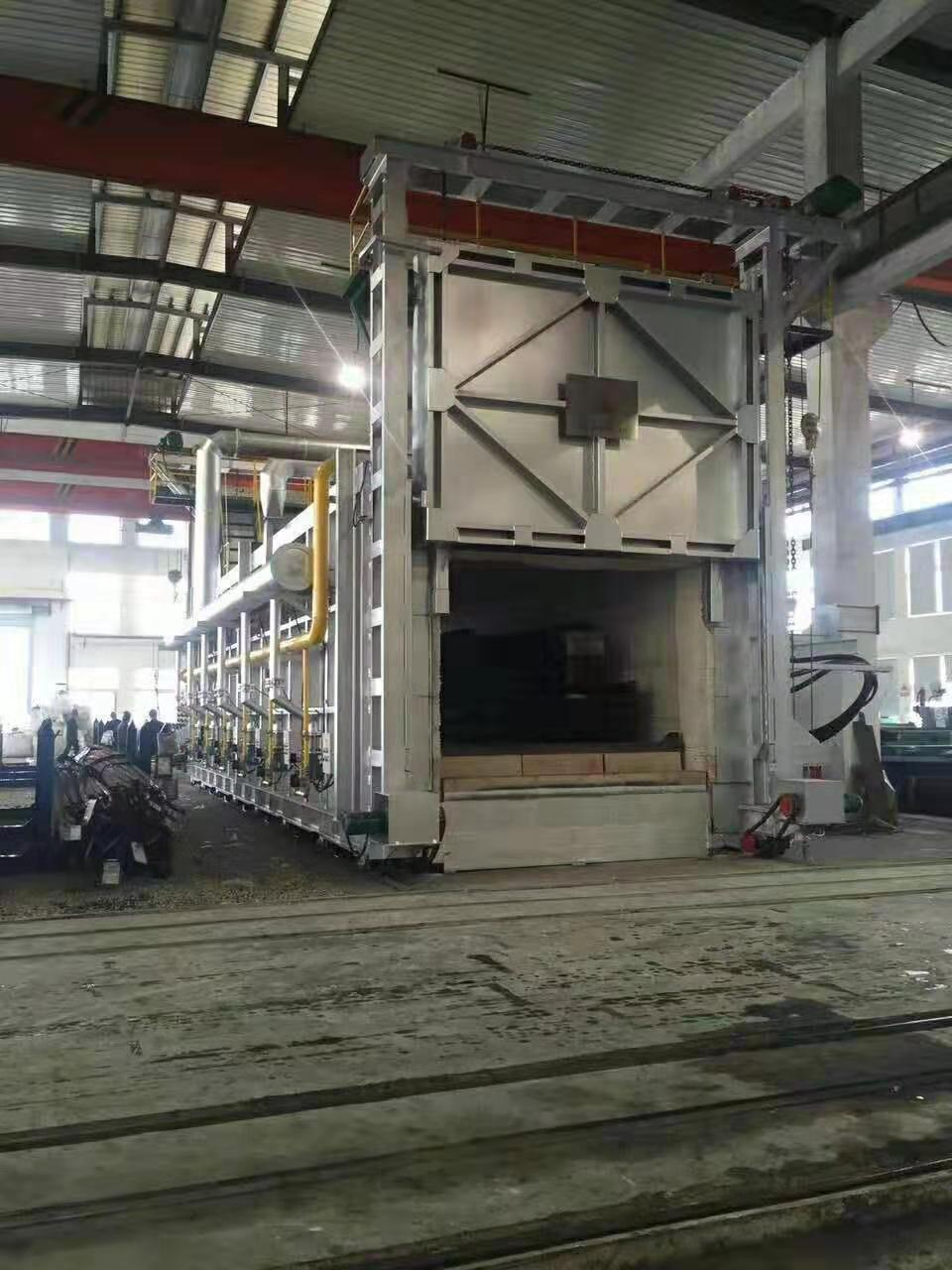 Oil and Gas Trolley Furnace
