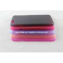 Various Color Transparent Thick Plastic Hard Case for iPhone6