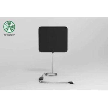 1080P Flat Amplified HDTV Antenna 50 miles