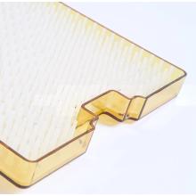 Caja de desinfección médica visual con caja