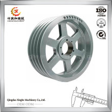 OEM Alloy Steel Casting Wheel with CNC Machining