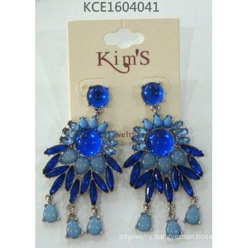 Flower Earring with Metal Fashion Jewellery