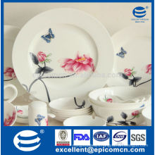 fine porcelain dinner set with nice painting