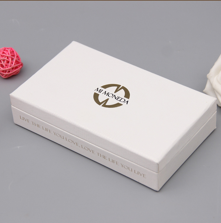 White Jewelry Packaging Box