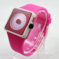 New Arrival Girls Silicone Smile Wrist Watch