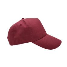 100% Cotton 5 Panel Cap One Size Fits All Custom Logo Sports Hat Baseball Caps