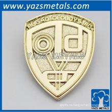 metal personalizado oro placa de la placa de la moneda de artesanía
