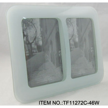 Curved Glass Picture Frame