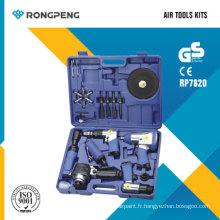 Kits d'outils pneumatiques Rongpeng RP7820 20PCS