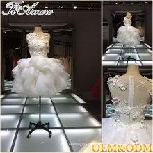 2017 por encargo moq = mini vestido de la dama de honor de 1 pedazo