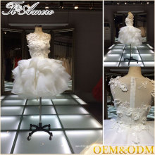 2017 custom made moq = 1 piece bridesmaid mini dress