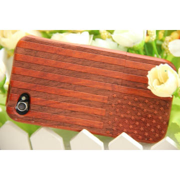 Pretty Red Wood Mobile Cover