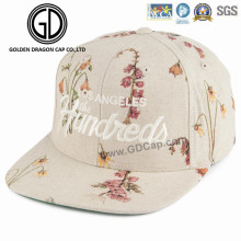 2016 Hot Item New Design Era Summer Beige Weathered Snapback Cap with Embroidery