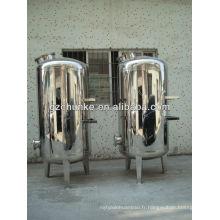 Boîtier de filtre à eau en acier inoxydable \ Système de filtre mécanique
