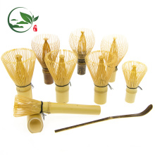 Japanese Bamboo Crafts Long-stem Bamboo Matcha Whisk Set
