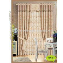 metallic yarn Style and decoration,Blackout Feature wide suit curtain