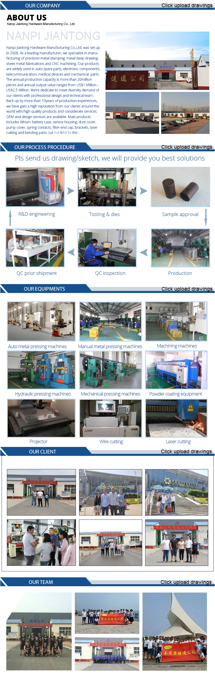 Sheet Metal Forming Service Metal Stretching