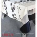 Новая Конструкция ПВХ печатных скатерть узор с Затыловкой ткани по санитарному