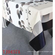 Toalha de mesa impressa PVC do teste padrão do projeto novo LFGB com revestimento protetor de Spunlace