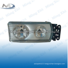 Euro tuck //Iveco Truck // truck body part of head lamp