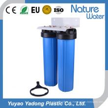 Sistema de Purificador de Água Azul Big Stage Duplo