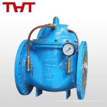 válvula de retención hidráulica cerrada lentamente tri abrazadera mm