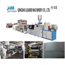Plastic Extruder Machinery /HDPE Single Layer Sheet Machinery