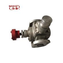 Pompe à engrenages lubrifiante en acier inoxydable de la série YCB la plus vendue de Chine