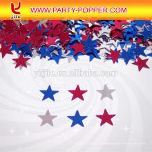 Respectueux de l'environnement matériel fête poppers confettis / partie décorer sequin / coloré papier de mariage tireur de confettis