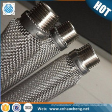 Home brew plain weave 400 micron stainless steel dry hop filter
