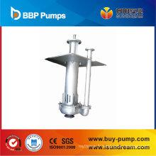 Pompe à boue submersible verticale