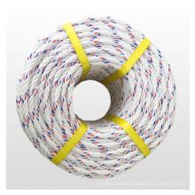 3 strands PP split film rope in 4-10mm in handle reel