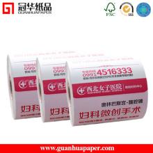 MSDS Bonne qualité OEM Cash Register Thermal Paper