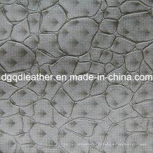 Cuir de modèle de décoration de mode en cuir de meubles (QDL-51382)