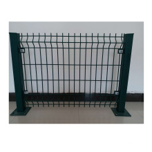 PVC Coated 3D Curved  Welded Wire Mesh Fencing/Metal Security Fence Panels