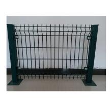 Покрытые ПВК изогнутые 3Д сварные ячеистой сети ограждая / панели загородки безопасностью металла
