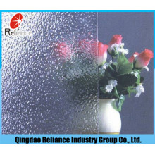 3mm / 3.5mm / 4mm / 5mm / 6mm Klares Muster Glas / Klare Abbildung Glas / Clear Gerolltes Glas / Nashiji Muster Glas / Karatachi Muster Glas / Flora Muster Glas