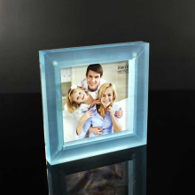 Cheap Acrylic Clear Block Photo Frame Wholesale
