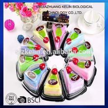 La toalla de pastel de regalo de cumpleaños más popular hermosa para niños Toalla de torta / toalla de regalo / toalla de cara / toalla de playa / toalla de mano;