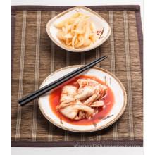 Plat de sauce de mélamine de 100% / assiette carrée / bol de sauce (At076-07)