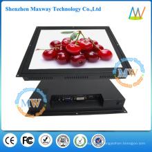 HDMI / VGA / DVI entrada quadro aberto 17 polegadas touch screen monitor